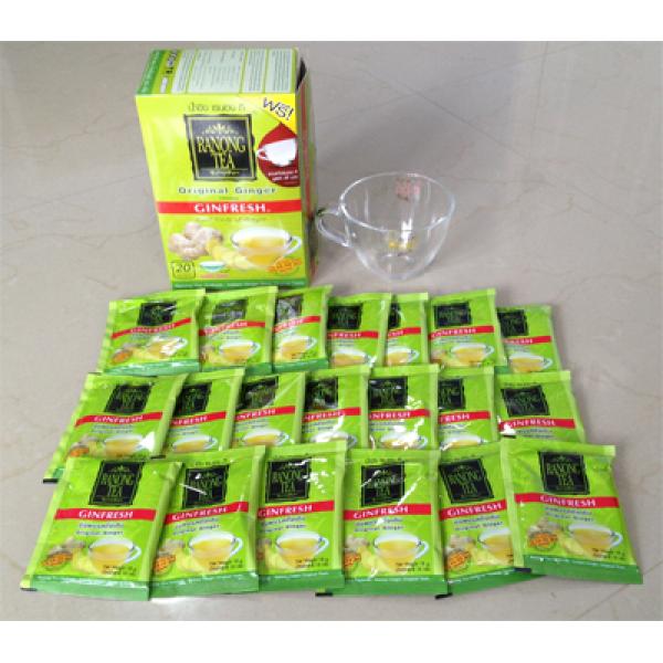 Zázvorový čaj Ranong Ginfresh - Original Ginger taste + šálka