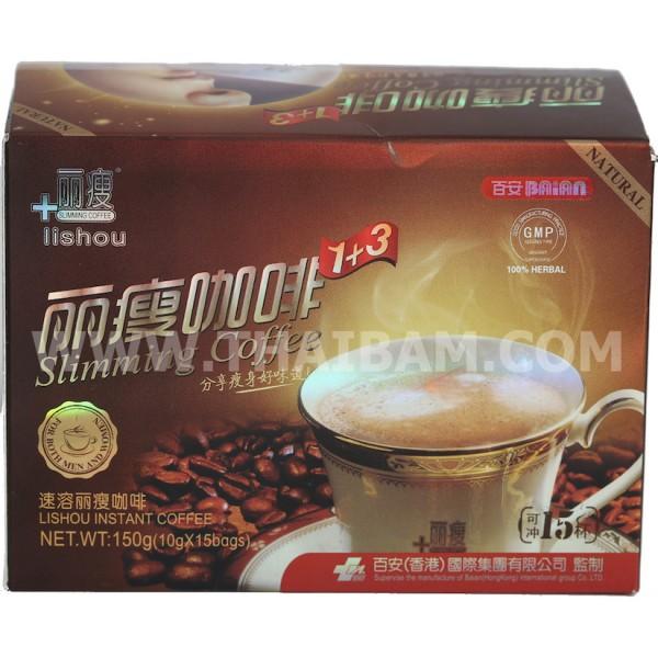 LIMITOVANÉ - Zoštíhľujúca káva BAiAN Lishou Slimming Coffee - DOBIERKA