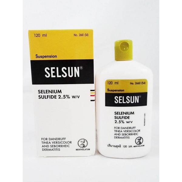 SELSUN - šampón proti lupinám 120 ml