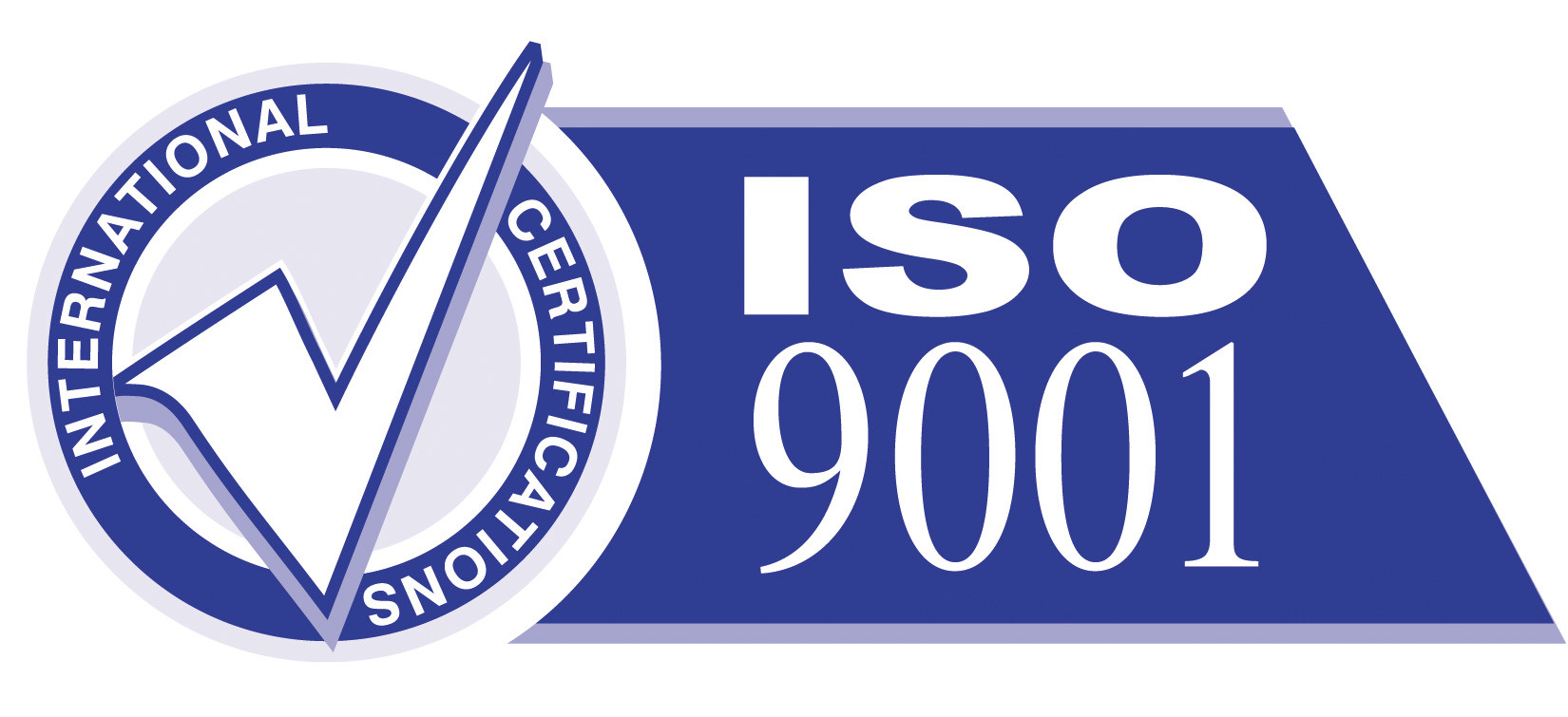 This product is ISO 9001 certified!
