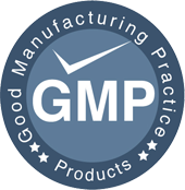 Manufactured by GMP standard!
